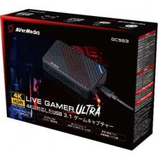 AVerMedia GC553 Live Gamer Ultra 4K Recording, Edit, Capture. and Record 4k @ 30fps. 240 Hz refresh rate. HDR Support. 12 Months Warranty 61GC5530A0A2
