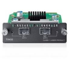 TP-Link TX432 10-Gigabit 2-Port SFP + Module 2x10Gb SFP+ slots Applicable to multiple TP-LINK switch models/SFP+ transceivers/SFP+ cables LS TX432