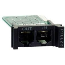 APC Surge Module for Analog Phone Line, Replaceable, 1U, use with PRM4 or PRM24 Rackmount Chassis PTEL2R