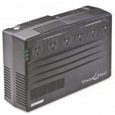 PowerShield SafeGuard 750VA/450W Line Interactive, Powerboard Style UPS with AVR, Telephone or Modem Surge Protection. Wall Mountable. PSG750