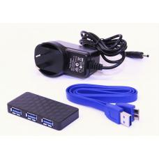 Astrotek 5 Port USB3.0 HUB With 5V 2.5A Power Adaptor AT-USB3-HUB4