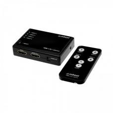 mbeat Mini 4 Port HDMI Switch with Power and Remote MB-HDMISW41S