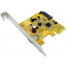 Sunix USB2311C one USB 3.1 Enhanced SuperSpeed Type-C Single port PCI Express Host Card (NO cable including in) USB2311C