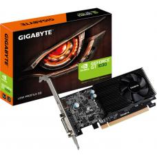 Gigabyte nVidia GeForce GT 1030 2GB DDR5 Fan PCIe Video Card 4K @ 60Hz HDMI DVI 2xDisplays Low Profile 1506/1468 MHz VCG-N1030SL-2GL GV-N1030SL-2GL GV-N1030D5-2GL