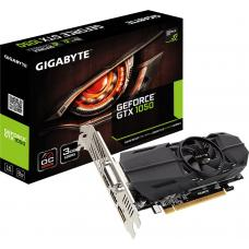 Gigabyte nVidia GeForce GTX 1050 OC 3GB DDR5 Low Profile PCIe Video Card 8K @ 60Hz DP 2xHDMI DVI 4xDisplays 1569/1544MHz GV-N1050OC-3GL