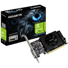 Gigabyte nVidia GeForce GT 710 1GB DDR5 PCIe Video Card 4K 2xDisplays HDMI DVI Low Profile 954MHz ~GV-N710D5-1GI GV-N710D5-1GL