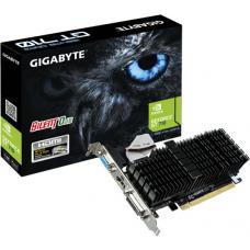 Gigabyte nVidia GeForce GT 710 1GB PCIe Video Card DDR3 4K 3xDisplays HDMI DVI VGA Low Profile Heatsink Silent ~VCG-N710D3-1GL GV-N710D3-1GL GV-N710SL-1GL