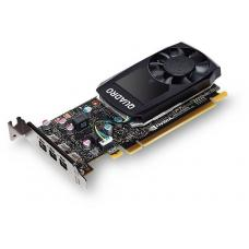 Leadtek nVidia Quadro P1000 PCIe Workstation Card 4GB DDR5 4xmDP 4x5120x2880@60Hz 128-Bit 82GB/s 640 Cuda Core Single Slot Low Profile (126P9000200) P1000