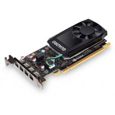 Leadtek nVidia Quadro P620 PCIe Workstation Card 2GB DDR5 4xmDP1.4 4K 4x5120x2880@60Hz 128-Bit 80GB/s 512 Cuda Single Slot Low Profile ~VCL-P600 K620 P620