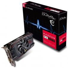 Sapphire AMD PULSE RX 560 2GB 45W Version Gaming Video Card - Draw Power from PCI-E GDDR5 DP/HDMI/DVI AMD Eyefinity 1226MHz 11267-22-20G