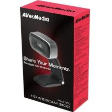 AVerMedia CAM PW310O Full HD 1080p @ 30ps Smooth and Rapid Autofocus, Live Streaming, Teams, Skype, Hangouts. Windows or Mac Compatible. Webcam 61PW310O00AB