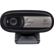 Logitech C170 5MP USB Webcam Built-in mic noise reduction Pan Tilt Zoom Video & photo capture Face tracking Motion detection Universal Clip 960-000761 960-000958