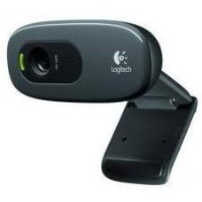 Logitech C270 3MP HD Webcam 720p/Built in Mic/Light Correc/IM compatibility - 960-000584 960-000584