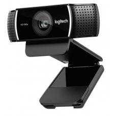 Logitech C922 Pro Stream Full HD Webcam 30fps at 1080p Autofocus Light Correction 2 Stereo Microphones 78 FoV 3mths XSplit Premium License ~VILT-C920 960-001090