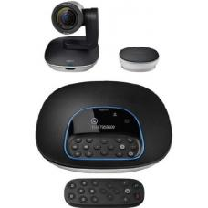 Logitech CC3500e Conference Cam Group HD Video Conferencing Webcam for Med-Large Meeting Rooms 1080p Pan Tilt Zoom Camera & Speakerphone BT NFC 960-001054