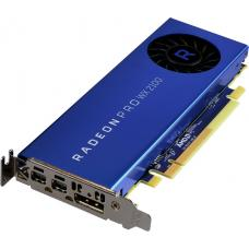 AMD Radeon Pro WX2100 Work Station Graphics Card PCIE 2GB GDDR5, 3H (2x mDP, 1x DP) Single Slot, Low Profile 100-506001