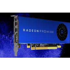 AMD Radeon Pro WX3100 Work Station Graphic Card PCIE 4GB GDDR5, 3H (2x mDP, 1x DP) Single Slot, Low Profile 100-505999