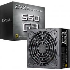 EVGA PSU (Full-Modular), 550W, Hydrodynamic Fan, 80+ Gold 92%, SuperNOVA G3, 150mm Fan, 3xPCIE, Multi Rail, 7 Year Warranty 220-G3-0550-Y4