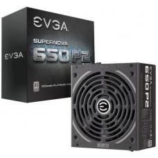 EVGA PSU (Full-Modular), 650W, 80+ Platinum 94%, SuperNOVA P2, 140mm Fan, 4xPCIE, Single +12V Rail, 10 Year Warranty 220-P2-0650-X4