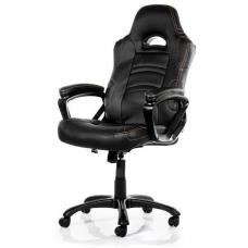 Arozzi Black Enzo Adjustable Ergonomic Motorsports Inspired Desk Chair ARO-ENZO-BK