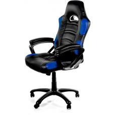 Arozzi Black & Blue Enzo Adjustable Ergonomic Motorsports Inspired Desk Chair ARO-ENZO-BL