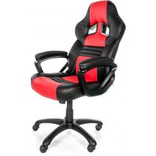 Arozzi Black & Red Monza Adjustable Ergonomic Motorsports Inspired Desk Chair ARO-MONZA-RD