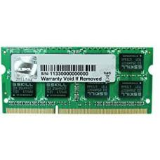 G.Skill DDR3-1600 8GB Single Channel SODIMM [SL] F3-1600C11S-8GSL GS-F3-1600C11S-8GSL