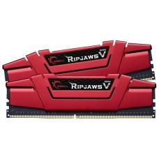 G.Skill DDR4-2400 8GB Dual Channel Ripjaws V Blazing Red [F4-2400C15D-8GVR]