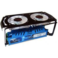 G.Skill Turbulence II White LED 3500RPM RAM Cooler [FTB-3500C5-D]