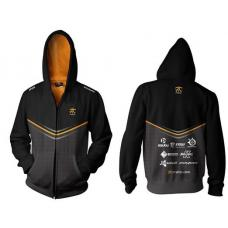Fnatic Black Large Player Zipped Hoodie NFNC-HOOD14-ZIP-L