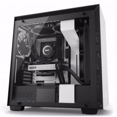 NZXT Matte White H200i Mini Tower Chassis (Smart Device) NZT-CA-H200W-WB