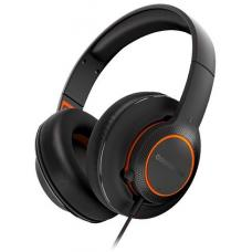 SteelSeries Black & Orange Siberia 100 3.5mm Headset SS-61420