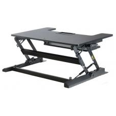 Vision Mounts Black Height Adjustable Sit & Stand Desk VM-DESK-LD02