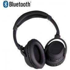 Laser AO-BT88NC-BLK Noise Cancelling Bluetooth Headphone in Matt Black