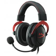 Kingston HyperX Cloud II - Pro Gaming Headset (Red) KHX-HSCP-RD