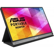 "Asus MB16AC ASUS ZenScreen MB16AC 15.6"" 1920x1080 IPS Hybrid USB Type-C & A TUV Certified 0.8Kg USB MAC Ready Portable Monitor"