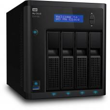 Western Digital My Cloud EX4100 Expert Series 4-Bay 24TB NAS, 1.6GHz Dual-Core CPU, 2GB DDR3, RAID, backup, media server - Black WDBWZE0240KBK-SESN