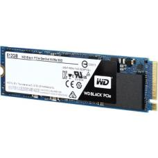 Western Digital WDS512G1X0C WD Black PCIe, NVMe SSD, M.2 2280 Form Factor, PCIe Gen 3 Interface, 512GB, 5 Yrs Warranty