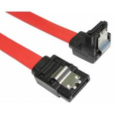 CM 0.5M SATA3.0 Flat CABLE 7P/M to 7P/M with Locking