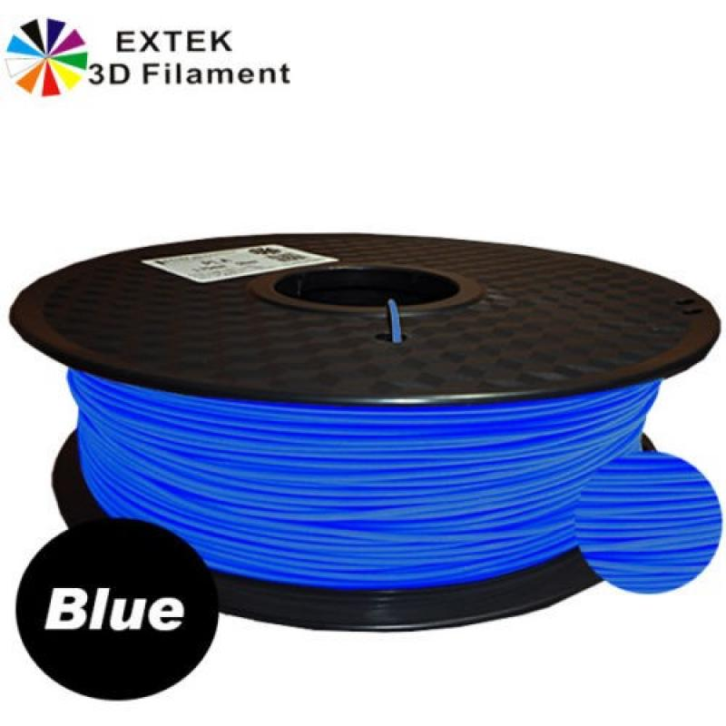 Extek 3D Printer Filament 1.75mm ABS 800g Roll - Blue