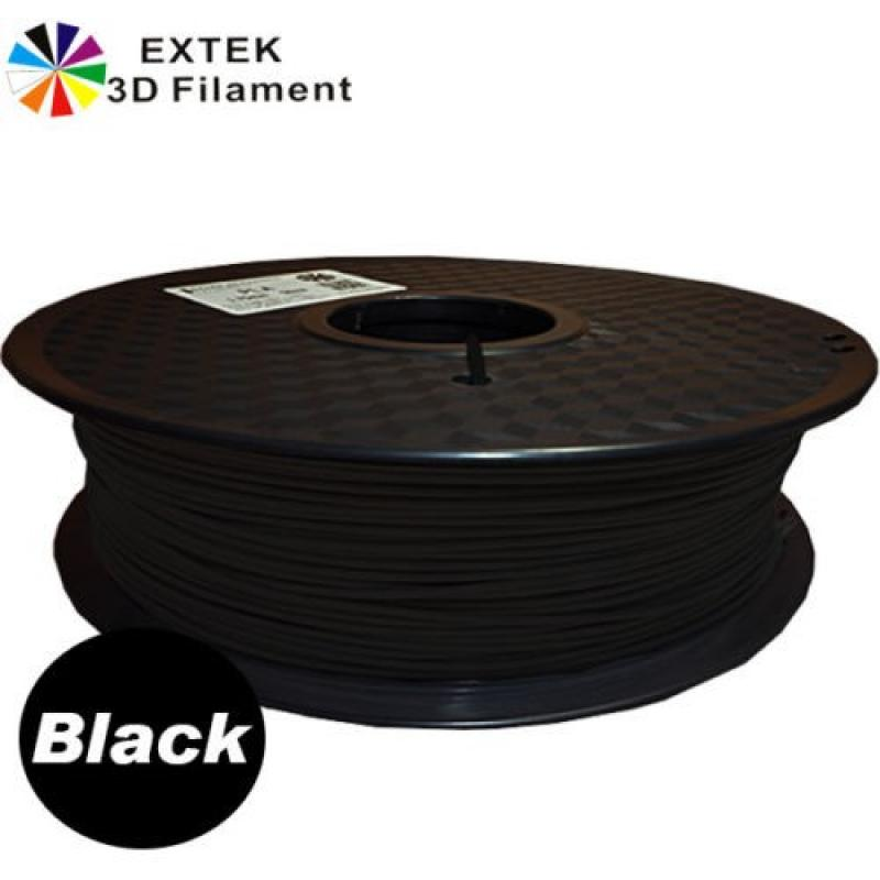 Extek 3D Printer Filament 1.75mm PETG 800g Roll - Black