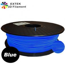 Extek 3D Printer Filament 1.75mm PLA 800g Roll - Blue