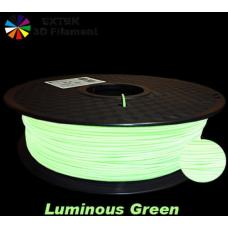 Extek 3D Printer Filament 1.75mm PLA 800g Roll - Lumimious Green