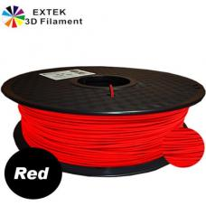 Extek 3D Printer Filament 1.75mm PLA 800g Roll - Red