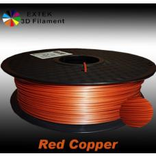 Extek 3D Printer Filament 1.75mm PLA 800g Roll - Red Copper