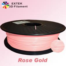 Extek 3D Printer Filament 1.75mm PLA 800g Roll - Rose Gold