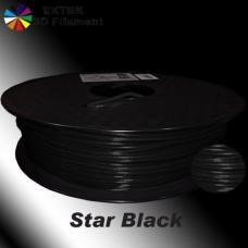 Extek 3D Printer Filament 1.75mm PLA 800g Roll - Star Black