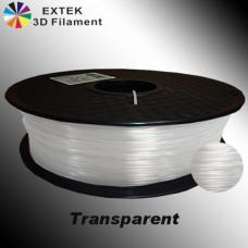 Extek 3D Printer Filament 1.75mm PLA 800g Roll - Transparent