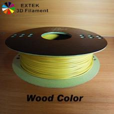 Extek 3D Printer Filament 1.75mm PLA 800g Roll - Wood