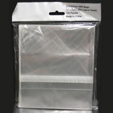 OPP Resealable Bags for 5.2mm CD Jewel Case 100pk